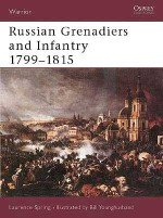 Russian Grenadiers and Infantry 1799–1815